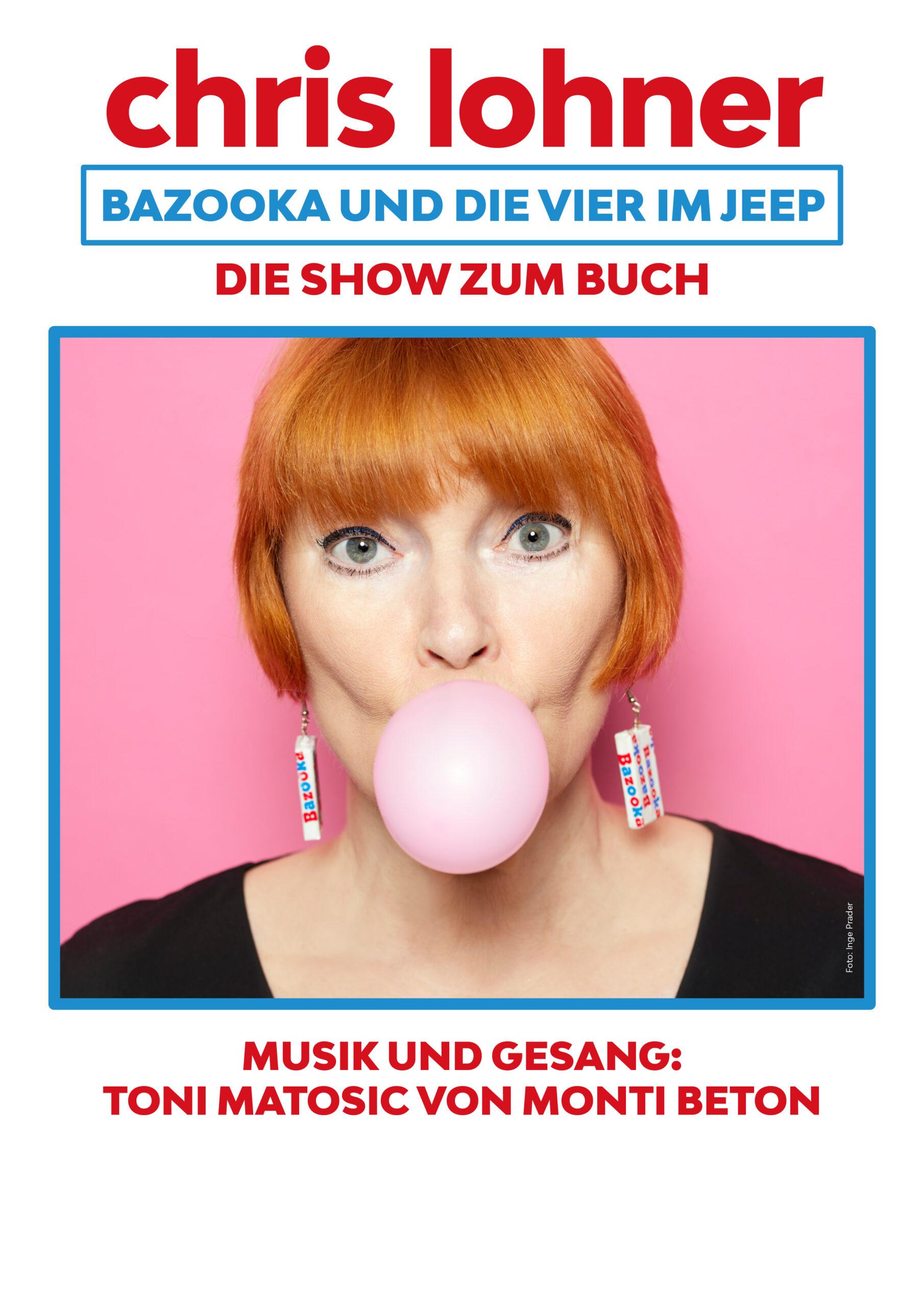 Plakat: Bazooka und die Vier im Jeep